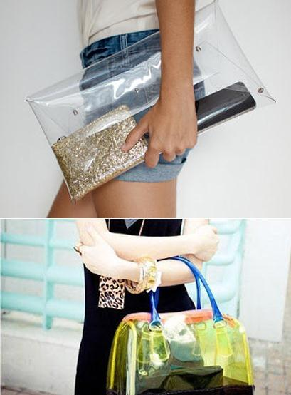 Прозрачная сумка прадо купить киев